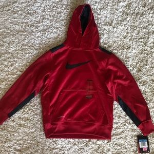 Boys red Nike sweatshirt